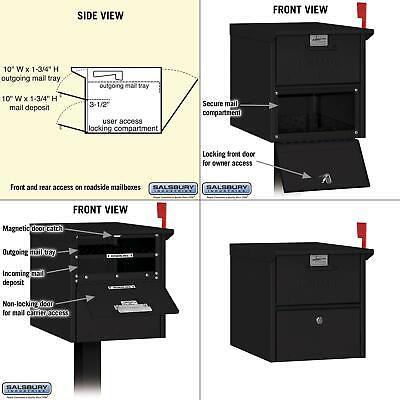 post-mount roadside mailbox -