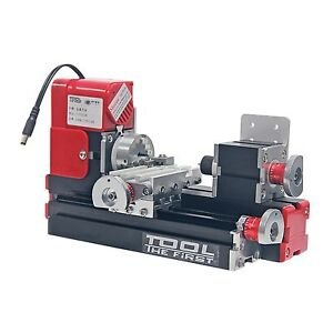 High Quality Motorized Mini Metal Working Lathe Machine DIY Tool for Hobby