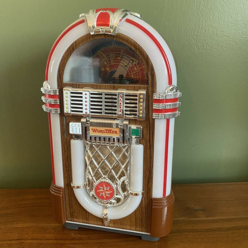 As-Is Untested Wurlitzer Miniature Jukebox 1015 Collectible Replace