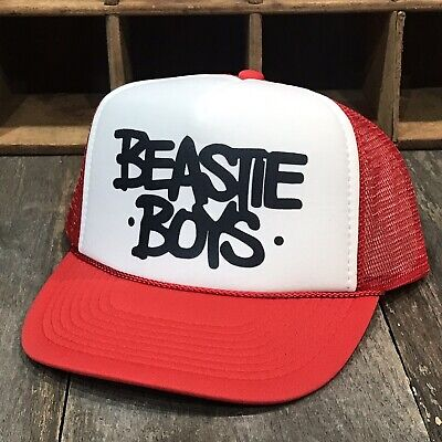 Old School Trucker Hats (Beastie Boys Trucker Hat Vintage 90's Old School Mesh)