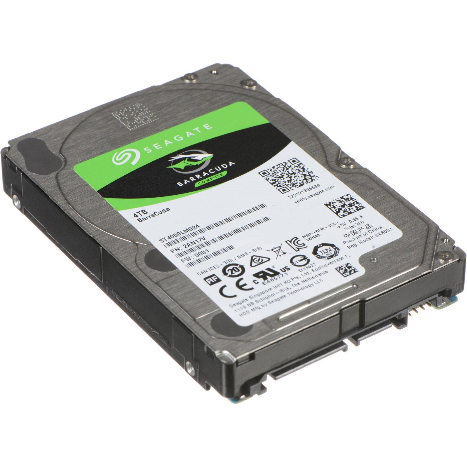 Seagate BarraCuda | 4TB Festplatte | ST4000LM024 | SATA 6Gb/s | 2,5