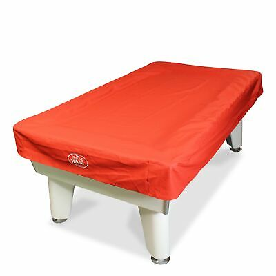 Baize Master Stylish 7ft Red LUXURY Heavy Duty Leatherette UK Pool Table Cover
