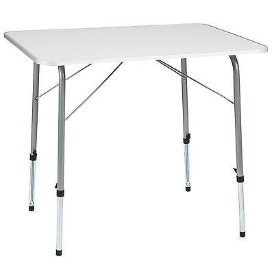 Campingtisch Klapptisch klappbar Wohnwagen Tisch Gartentisch höhenverstellbar - Klapptische