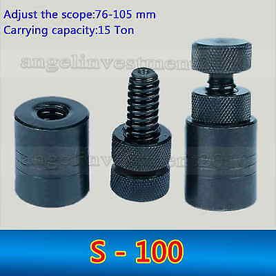 1pc Heavy Duty Cnc Manual Mold Screw Jack S-100 Height Range 76-105 Mm