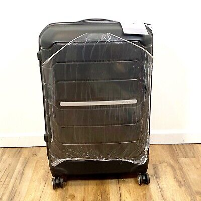 "Samsonite 78257-1041 Freeform Hardside Spinner Large Luggage 28"" Black NWT"