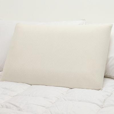Orthopädische Nackenstütze (2 X Orthopädisch Schaumstoff Kissen Fest Kopf Nacken Rückenstütze Anti Allergie)