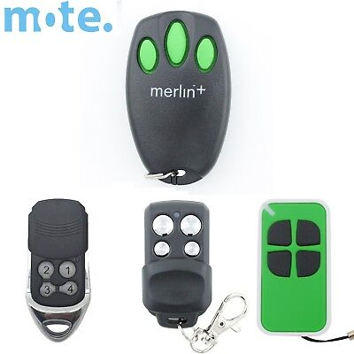 Merlin+ C945 CM842 Genuine/Compatible Garage/Gate Door Remote MR600 MR650 MT60