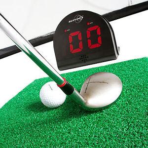 golf swing speed radar gun sports sensor measures in mph kph km h 24 balls ebay. Black Bedroom Furniture Sets. Home Design Ideas