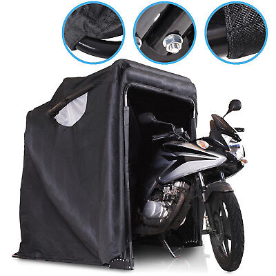 FOLDING MOTORBIKE SCOOTER BIKE CYCLE QUAD MOPED GARAGE STORAGE COVER SHELTER