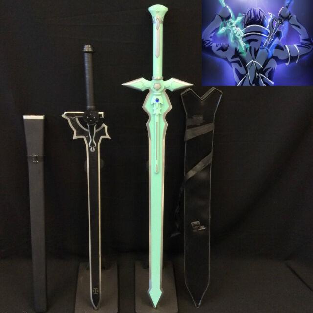 Sword Art Online Kirito Swords The Elucidator & Dark Repulser Set Stainless St