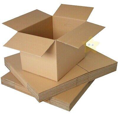 25 x MEDIUM 18x12x10 CARDBOARD BOXES 18