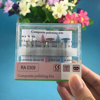 Dental Light-cured Resin Composite Polishing Kit Ra 0309 For Low-speed Handpiece