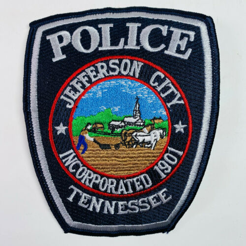 Jefferson City Police Tennessee TN Patch (A2)