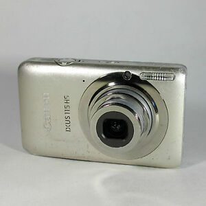 canon ixus 115 hs 12 1mp digital camera silver lens error