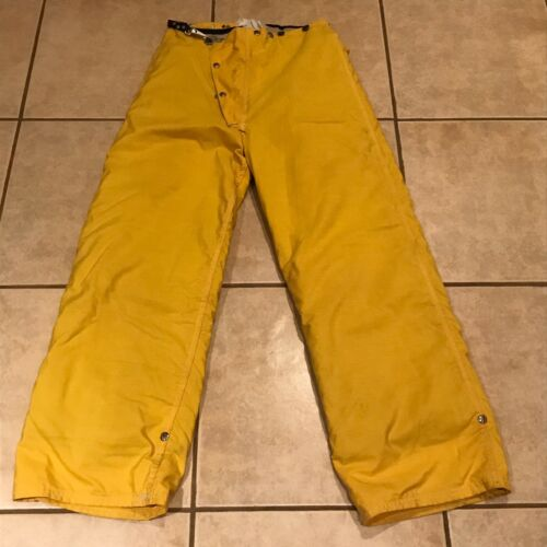 Body Guard Yellow Firefighter Turnout Pants