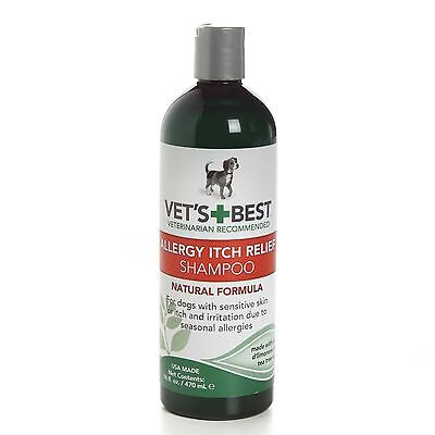 Vet's Best Allergy Itch Relief Shampoo for dogs 470ml (Best Shampoo For Allergies)
