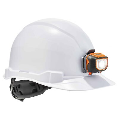 Ergodyne Skullerz Cap Style Hard Hat With Led Light - White