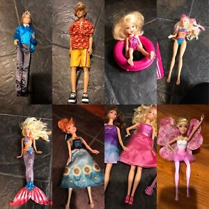 Barbie Dolls and multiple Accessories