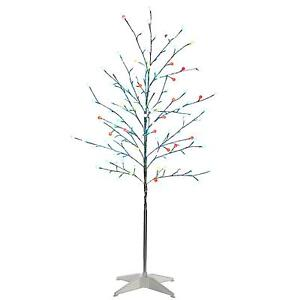 twig tree led fibre optic twig trees ebay. Black Bedroom Furniture Sets. Home Design Ideas