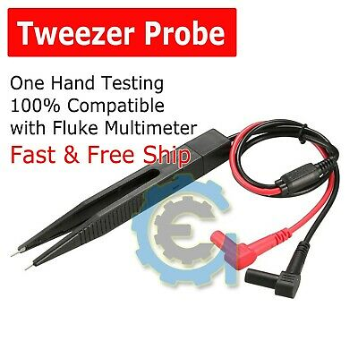 Tweezer Digital Multimeter Meter Universal Probe Wire Cable Test Leads
