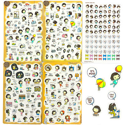 Cooky's Helloday Aufkleber Sticker DIY Tagebuch Scrapbooking Deko