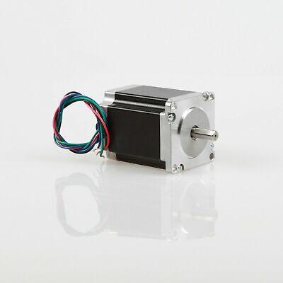 Nema23 Stepper Motor 5a 1.8v 1.25n.m 76mm 4-leads Flat Shaft Cnc Machine