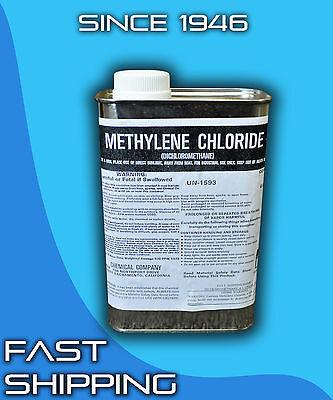 Dichloromethane 1 Quart Methylene Chloride Paint Stripper Degreaser Plastic Weld