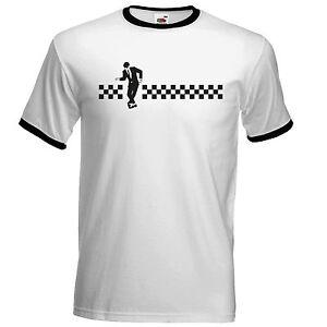 Dancing-Rude-Boy-Ska-T-Shirt-The-Specials-Madness-2Tone-Ska-Dammers-Suggs