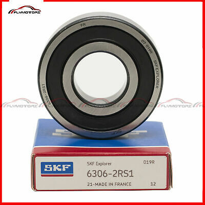 1pcs Skf 6306 2rs1 Rubber Seals Ball Bearing Made In France 30idx72x19mm 2rs Fag