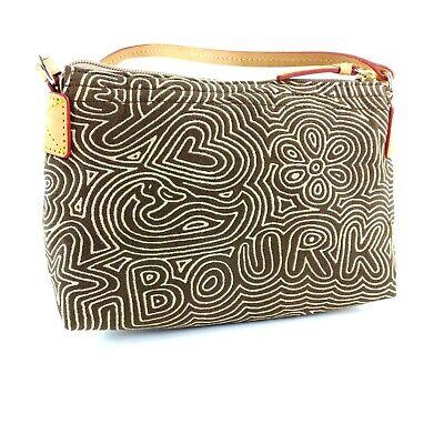 Dooney & Bourke Brown Fabric Pop Novelty Handbag