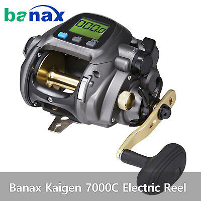 Banax Kaigen 7000C Electric Reel Saltwater Big Game Fishing Reels 66lb Drag