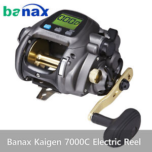 Banax Kaigen 7000C Electric Reel Saltwater BigGame Fishing Reels 66lb Drag Fedex