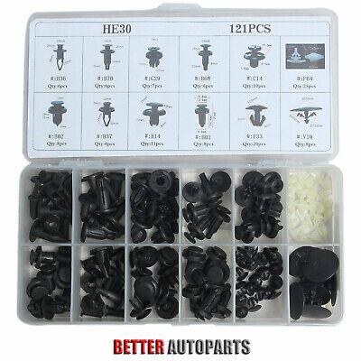 121 Clips Fender Door Hood Bumper Trim Body Retainers Assortment For Honda Acura