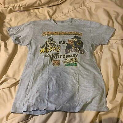 Wavves Vs Best Coast Summer Is Forever II Tour T Shirt Size