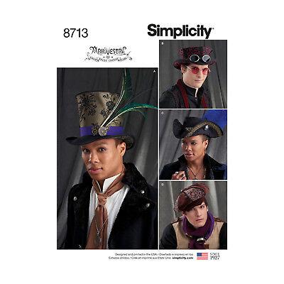 Steampunk-hüte (Schnittmuster Fasching- Steampunk Hüte )