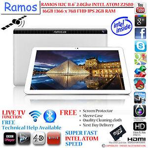 RAMOS I12C 2GHz INTEL ATOM Z2580 11.6