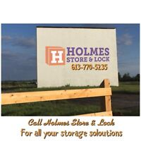 Brand new Storage units located in Napanee
