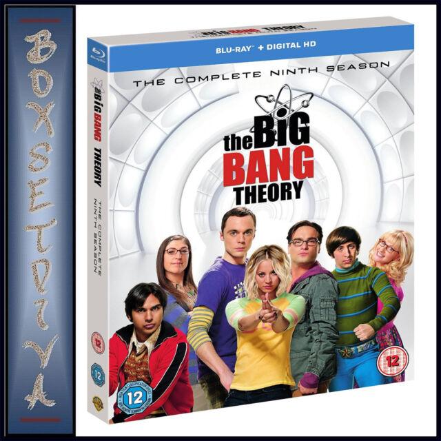 THE BIG BANG THEORY - COMPLETE SEASON 9   **BRAND NEW BLURAY**