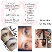 Ongles promotion 25$
