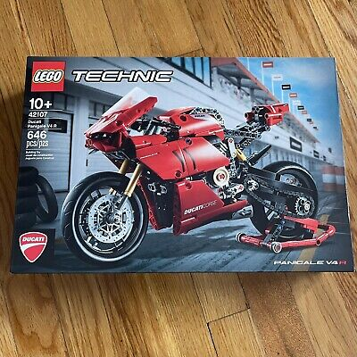 LEGO Technic 42107 Ducati Panigale V4 R 646 Piece Factory Sealed Box New