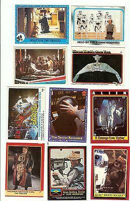 Finish your ET,ESB, Space 1999, Star Trek, Battlestar, ROTJ, Dune pick 6 cards