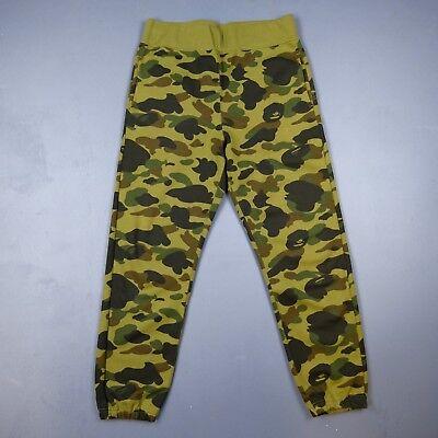 100% Authentic BAPE 1st Camo Windstopper Sweat Pants Mens Size M A Bathing Ape