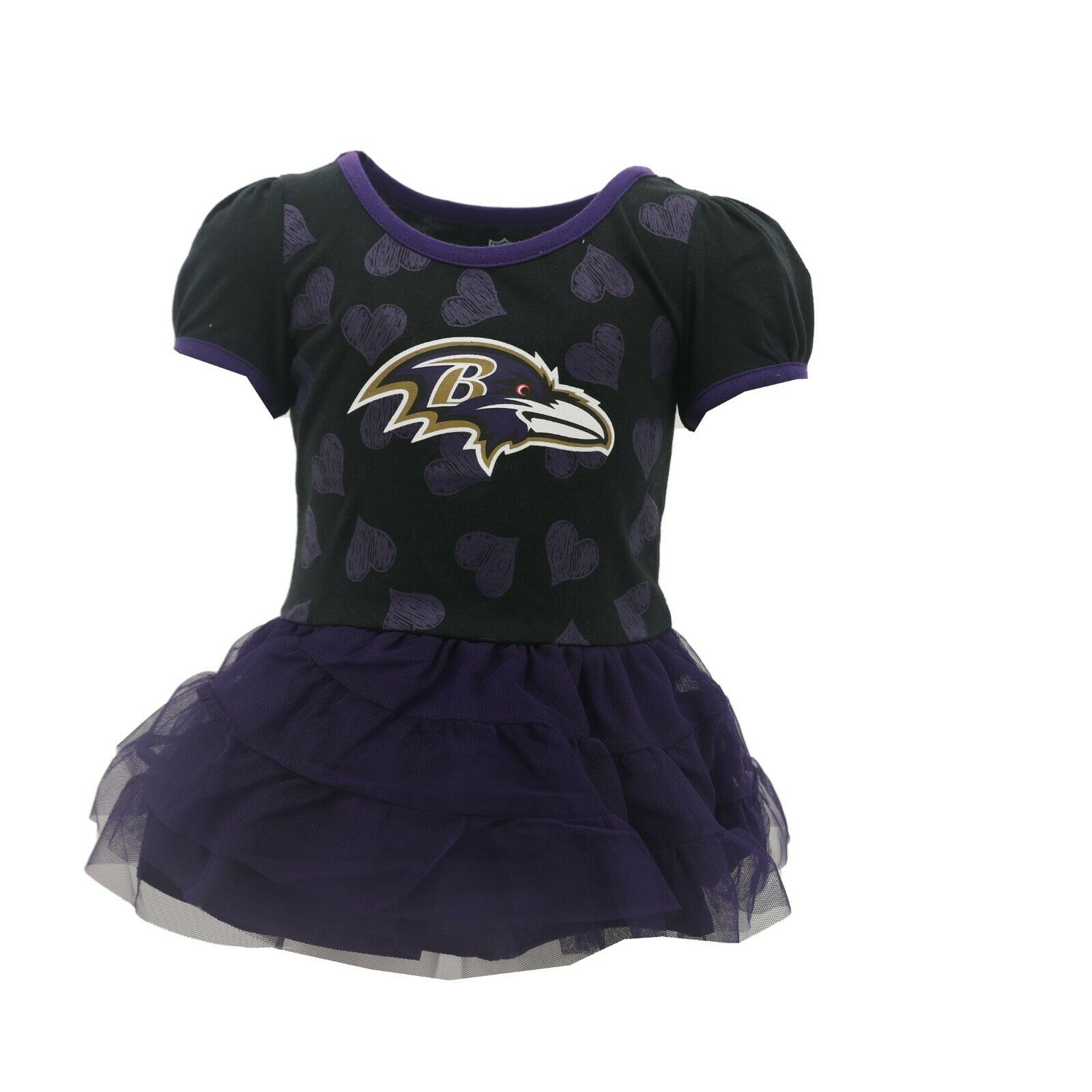 Baltimore Ravens Official NFL Baby Infant Girls Size Dress with ...
