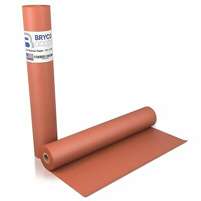 Pink Kraft Butcher Paper Roll - 18 Inch x 100 Feet (1200 Inch) - Food Grade P...