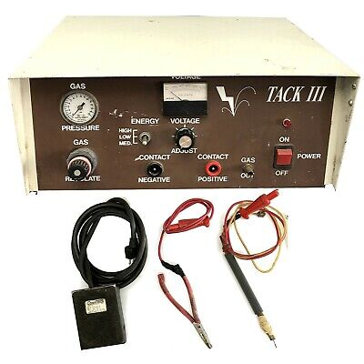 Abi Tack Iii Professional Grade Pulse Arc Welder For Jewelers And Mechanics Used