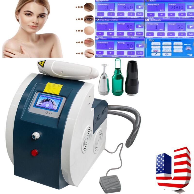 Tattoo Eyebrow Pigment Removal Beauty Machine Remove eye line lip line Device US