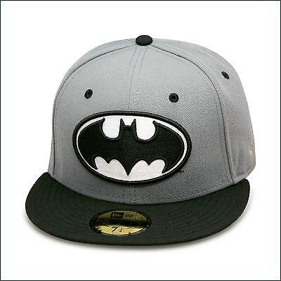 New Era Batman Fitted Hat GREY/BLACK dark knight suicide squad joker DC comics](Joker Hat Batman)