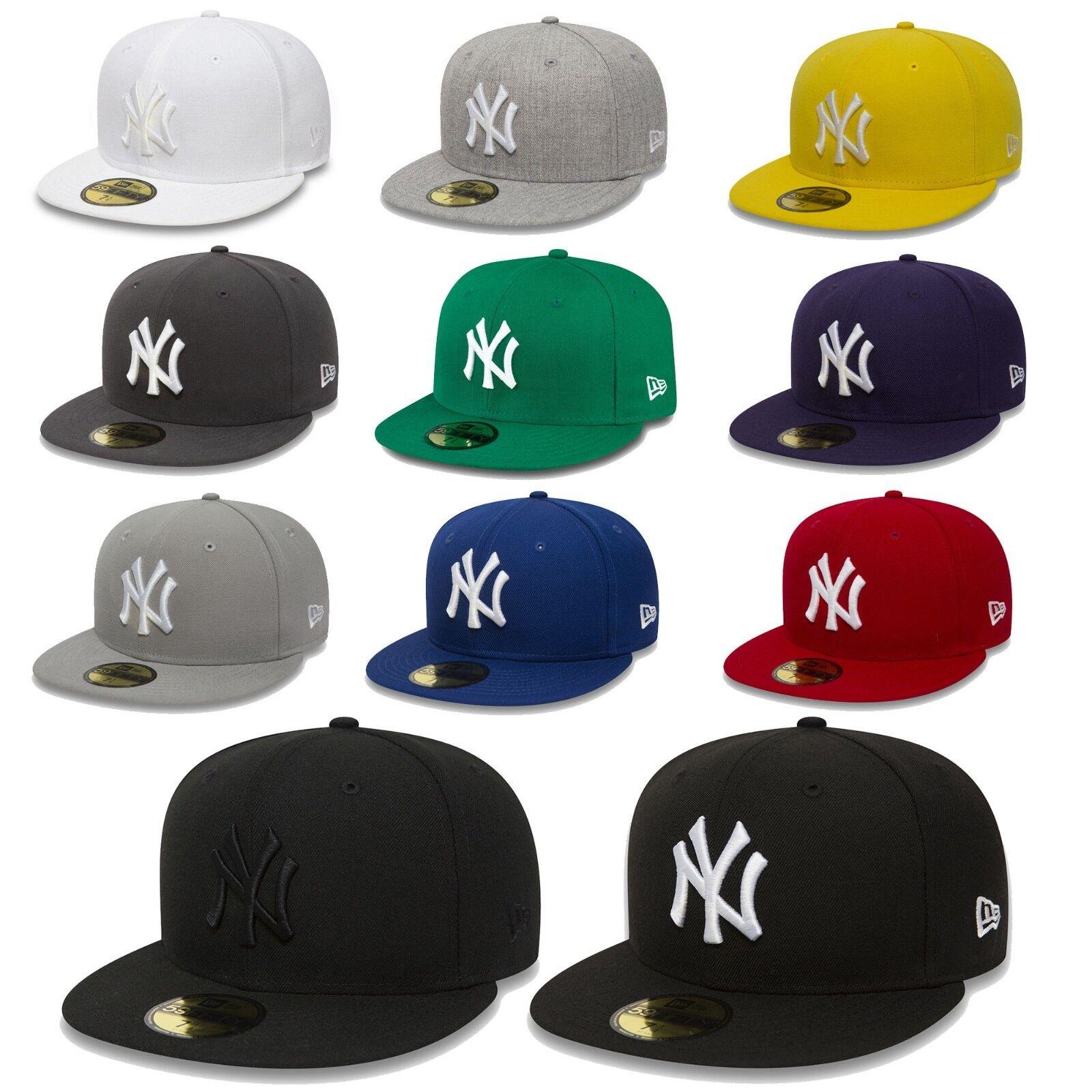 New Era Cap 59Fifty Fitted New York Yankees MLB Baseball Cap Basecap Authentic
