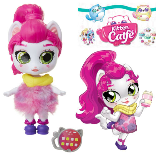 Jakks Series 1 PURRISSA LEE Kitten Catfe Doll Mystery Purrista Girls Blind Bag