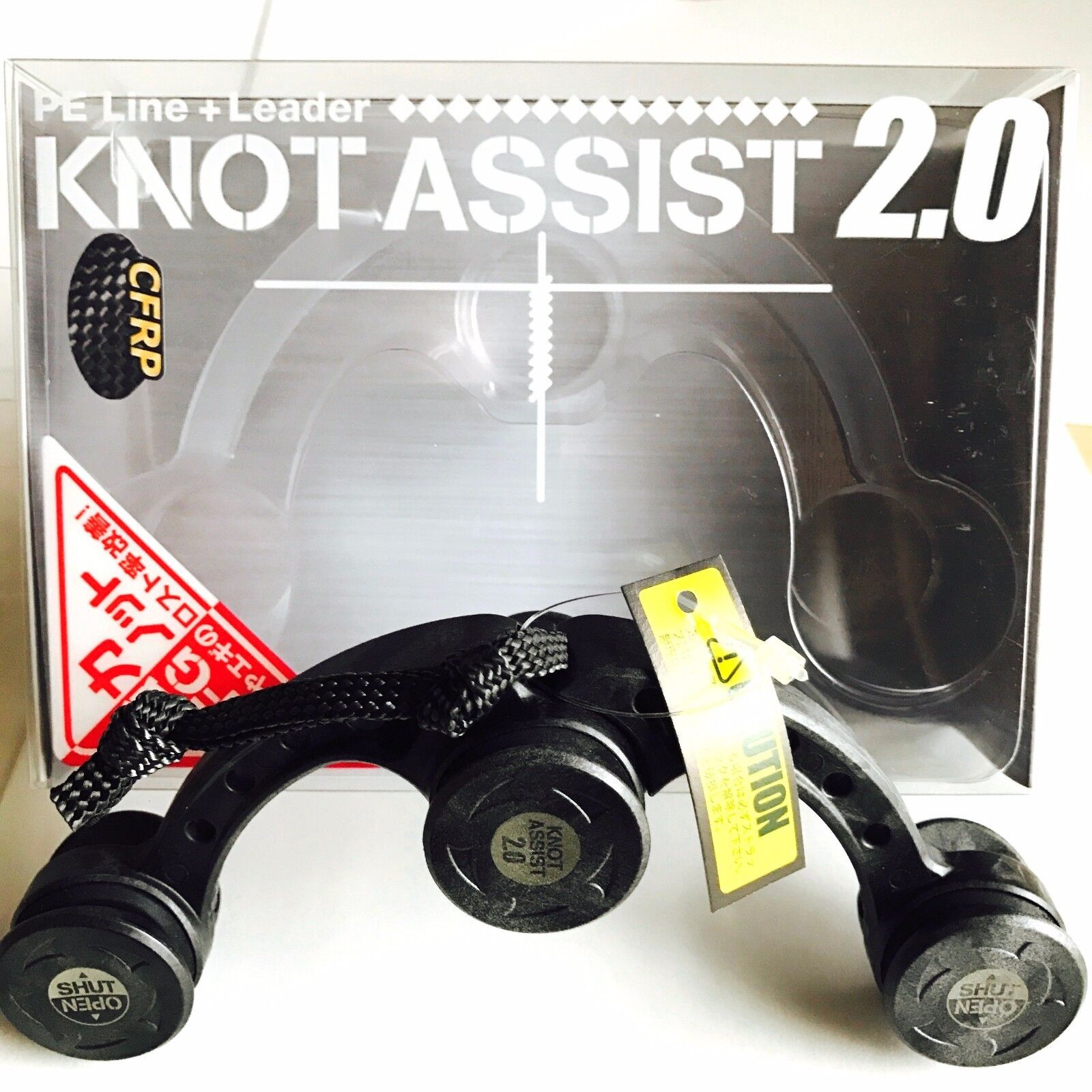 Daiichi Seiko Knot Assist 2.0 Black for FG Braided Line to Leader Connection F//S